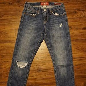 Lucky Brand Denim | Sienna | Slim Boyfriend Jeans